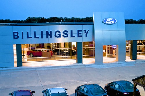 Billingsley Ford Showroom Duncan, OK