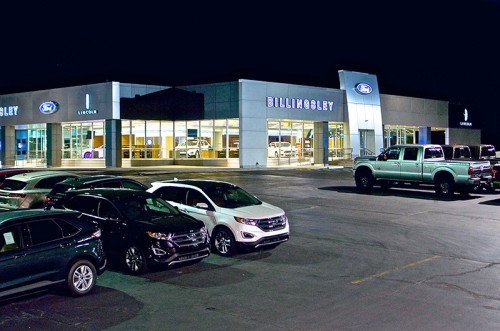 Billingsley Ford Showroom - Ardmore, OK