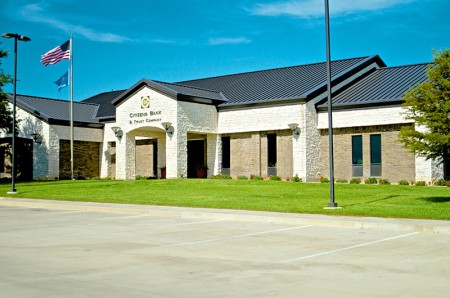 Citizens Bank New Drive Thru and Site Ardmore, OK